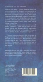 La nuit de l'oracle - 4ème de couverture - Format classique