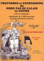 Proverbes et expressions du nord pas de calais en patois - Intérieur - Format classique