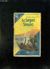 Le Sergent Simplet. - Couverture - Format classique