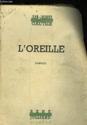 L'Oreille - Roman - Couverture - Format classique