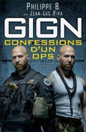 GIGN : confessions d'un ops - Couverture - Format classique