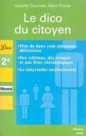 Le dico du citoyen - Intérieur - Format classique