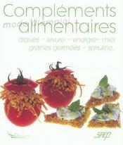 Complements alimentaires - Intérieur - Format classique