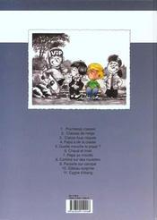 Cédric t.6 ; chaud et froid - 4ème de couverture - Format classique