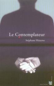 Le contemplateur - Intérieur - Format classique