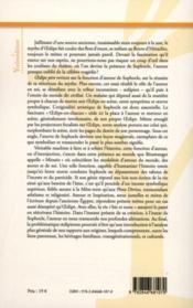Oedipe père - Couverture - Format classique