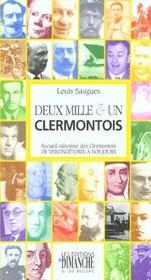 Deux mille & un Clermontois - Intérieur - Format classique