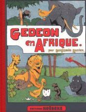 Gédéon en Afrique - Couverture - Format classique