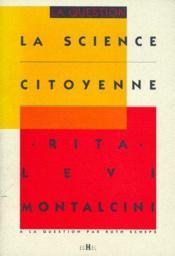La science citoyenne - Couverture - Format classique