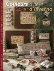 Couleurs d'hiver ; colori d'inverno - Couverture - Format classique