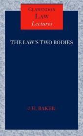 The law's two bodies - Couverture - Format classique