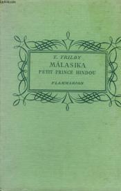 Malasika. Petit Prince Hindou. Collection : Pour Les Jeunes. - Couverture - Format classique