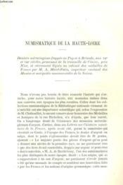 Numismatique De La Haute-Loire / Les Officiers Du Velay Au Regiment D'Auvergne, En 1747 - Couverture - Format classique