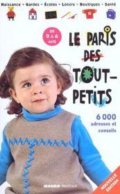 Paris Des Tout Petits ; Edition 2002 - Intérieur - Format classique