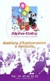 Paris Des Tout Petits ; Edition 2002 - 4ème de couverture - Format classique