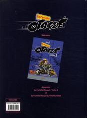 La famille Otaqué t.2 - 4ème de couverture - Format classique