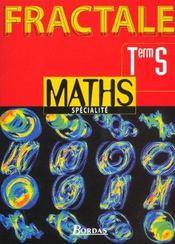 Maths specialite terminale s: livre de l'eleve - Intérieur - Format classique