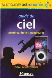 Guide Du Ciel -Planetes Etoiles Nebuleuses - Intérieur - Format classique