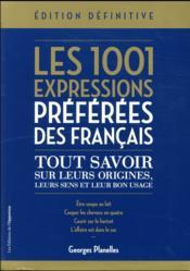 Les 1001 expressions préférées des Français - Couverture - Format classique