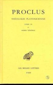 Théologie t.6 + index général - Couverture - Format classique