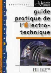 Guide pratique de l'électrotechnique (édition 2008) - Intérieur - Format classique