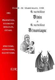 Le Merveilleux Divin Et Le Merveilleux Demoniaque - Couverture - Format classique