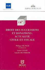 Droit des successions et donations - Intérieur - Format classique