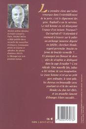Le Messager - 4ème de couverture - Format classique