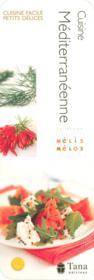 Cuisine méditerranéenne - Couverture - Format classique
