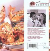 Le couple. des recettes originales et quelques grammes d'humour - 4ème de couverture - Format classique