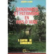 Randonnees Et Patrimoine En Pays D'Auge - Couverture - Format classique