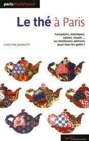 Le thé à Paris (édition 2009) - Couverture - Format classique