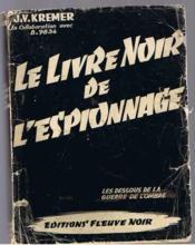 Le livre noir de l'espionnage - Couverture - Format classique