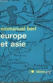 Europe Et Asie. Collection : Idees N° 199 - Couverture - Format classique
