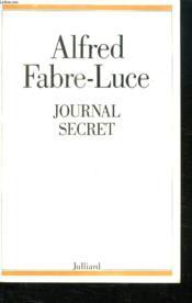 Journal Secret. - Couverture - Format classique