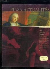 Piasa Actualites N° 13. Manuscrits, Arts Orient, Ceramiques Anciennes, Tableaux Anciens... - Couverture - Format classique