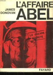 L'Affaire Abel. - Couverture - Format classique