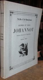 Alfred et Tony Johannot - Peintres, graveurs et vignettistes. - Couverture - Format classique