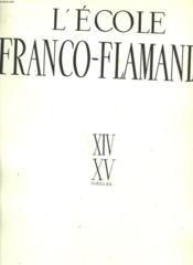 L'Ecole Franco-Flamande - Couverture - Format classique