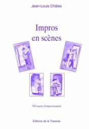 Impros en scènes - Couverture - Format classique