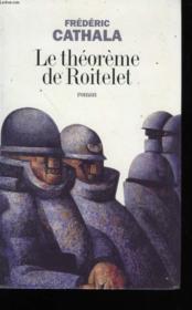 Le Theoreme De Roitelet - Couverture - Format classique