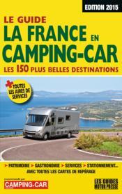Guide la france en camping-car 2016 - Couverture - Format classique