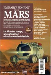Embarquement pour Mars ; 25 clés pour 25 défis à relever (3e édition) - 4ème de couverture - Format classique