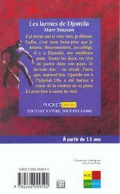 Larmes De Djamila - 4ème de couverture - Format classique