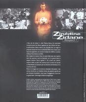 Zinedine Zidane ; respect ! - 4ème de couverture - Format classique