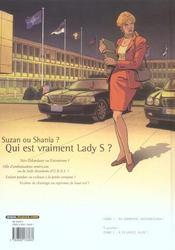 Lady S. T.1 ; na zdorovié, Shaniouchka ! - 4ème de couverture - Format classique