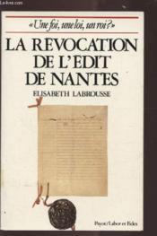 Revoc Edit Nantes Foi Loi Roi - Couverture - Format classique