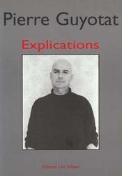 Explications - Intérieur - Format classique