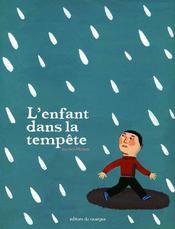 L'enfant dans la tempête - Couverture - Format classique