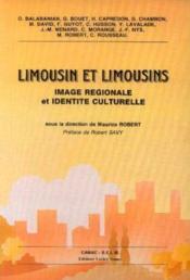 Limousin Et Limousins Image Regionale Et Identite Culturelle - Couverture - Format classique